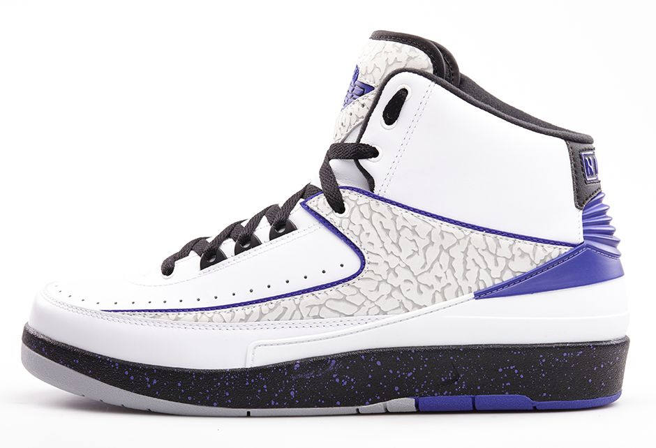 new product 78a7a cd1c6 Air Jordan 2 Retro 'Dark Concord' - Official Look - WearTesters