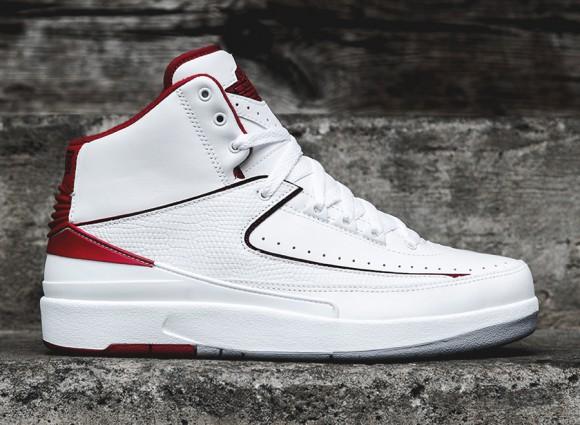 Air Jordan 2 Retro – White:Red – Release Info 1