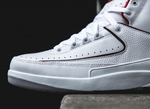 Air Jordan 2 Retro - White:Red