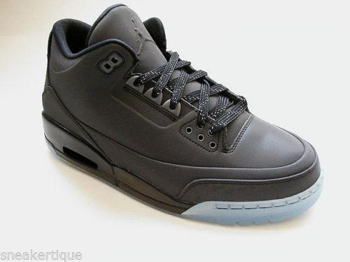 Air Jordan 3 5Lab3 'Black Reflective' – Detailed Look 1