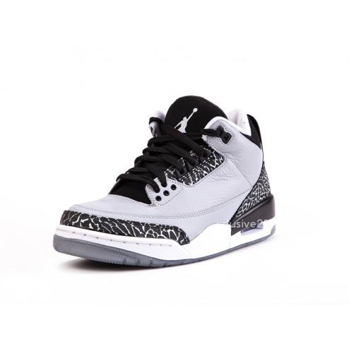Air Jordan 3 Retro 'Wolf Grey' - Detailed Images 3