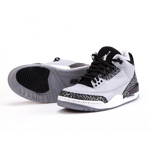 Air Jordan 3 Retro 'Wolf Grey' - Detailed Images 6