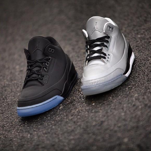 Air Jordan 5Lab3 'Black Reflective' - Detailed Look 5