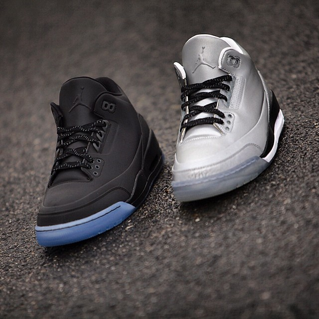 designer fashion fa515 70199 Air Jordan 5Lab3 'Black Reflective' - Another Look - WearTesters