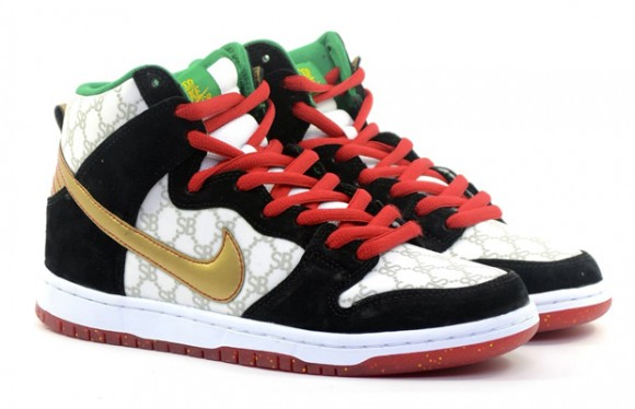 Black Sheep Skate Shop x Nike SB Dunk High 'Gucci' – Detailed Look 2