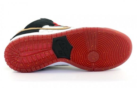 Black Sheep Skate Shop x Nike SB Dunk High 'Gucci' – Detailed Look 5