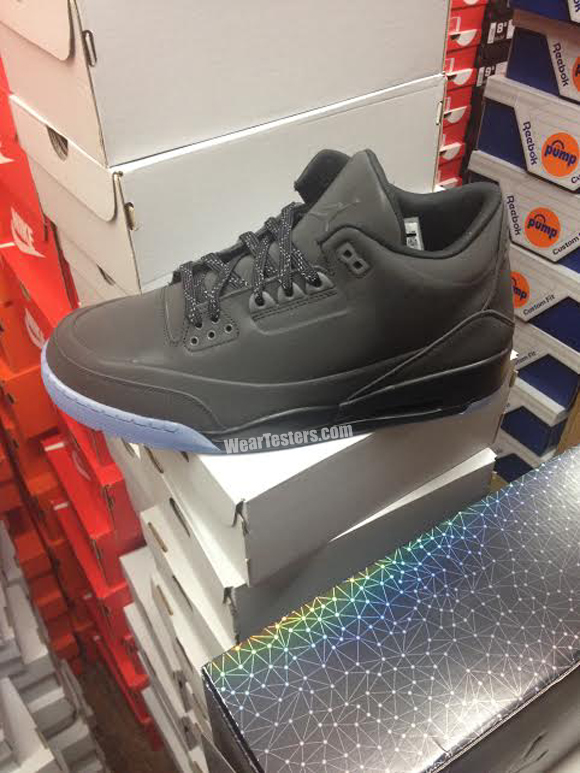 Jordan 3 5Lab3 'Black Reflective' – First Look & Release Info