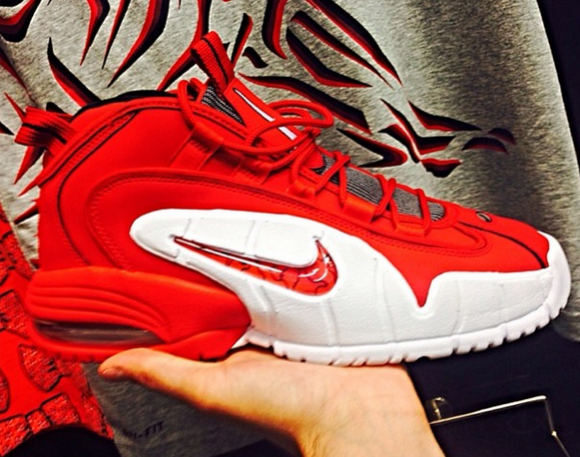 Nike Air Max Penny 1 Red: White - First Look