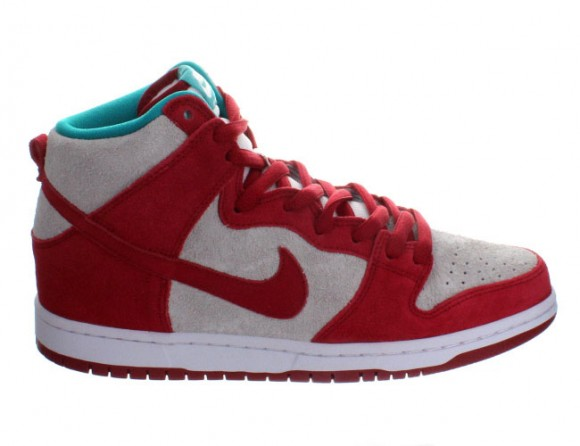 Nike Dunk High Pro SB Gym Red: White – Available Now