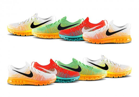 Nike Flyknit Max – 4 New Colorways + Release Info 1