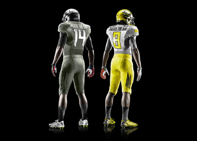 Nike Introduces Oregon Spring Game Uniforms  1
