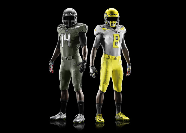 Nike Introduces Oregon Spring Game Uniforms 3