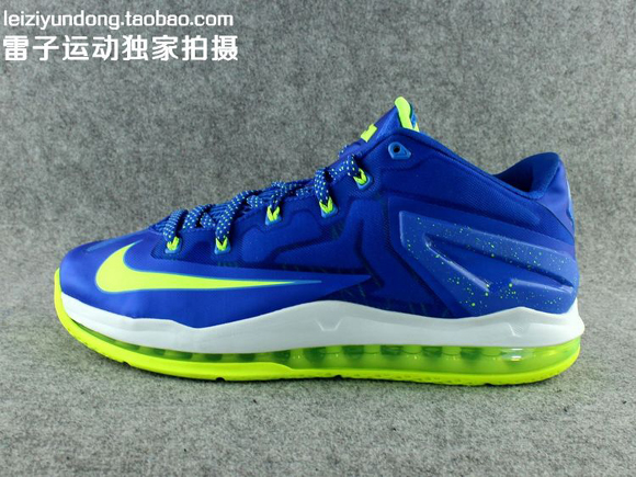 Nike LeBron 11 Low 'Sprite' - Detailed Look 1
