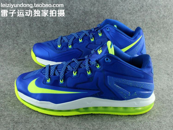 Nike LeBron 11 Low 'Sprite' - Detailed Look 2