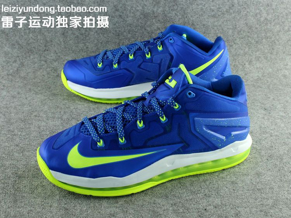 Nike LeBron 11 Low 'Sprite' - Detailed Look 4