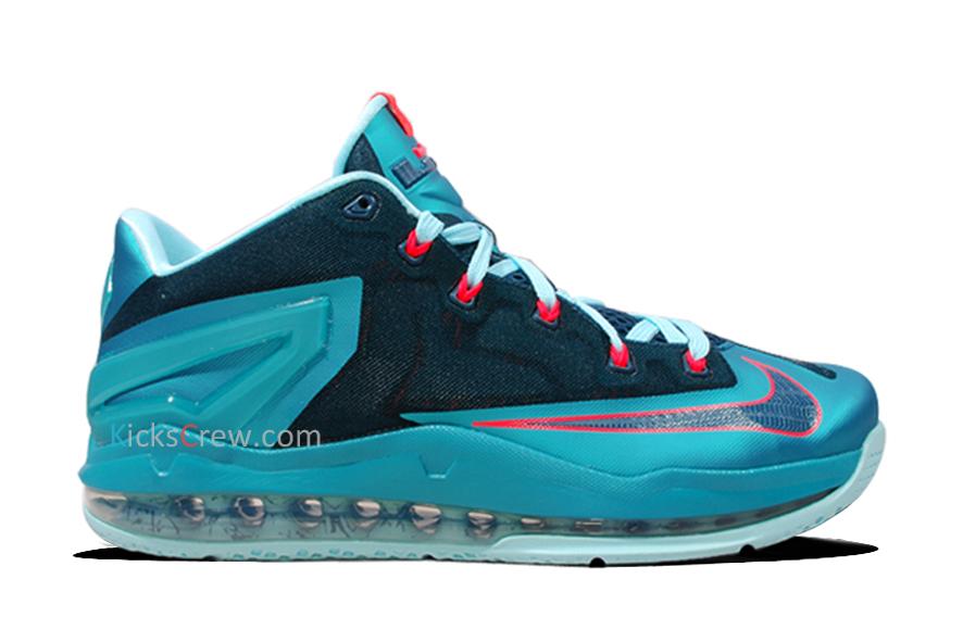 Nike Lebron 11 Low Turbo Green Detailed Look Weartesters