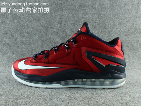 Nike LeBron 11 Low 'USA' - Detailed Look 1