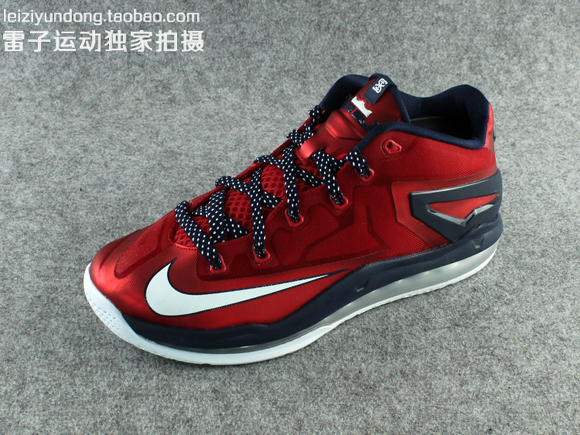 Nike LeBron 11 Low 'USA' - Detailed Look 2