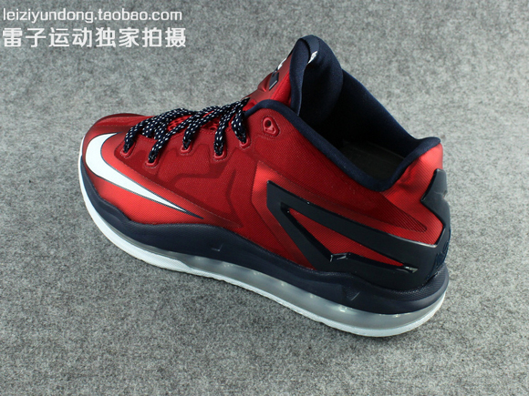 Nike LeBron 11 Low 'USA' - Detailed Look 4