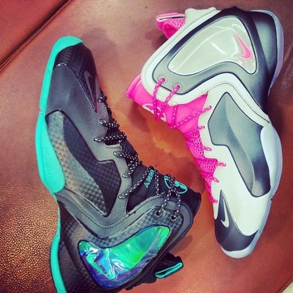 Nike Lil Penny Posite 'Hyper Jade' & 'Hyper Pink' – First Look 1