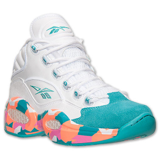 Reebok Question Mid 'White Noise' – Available Now 1