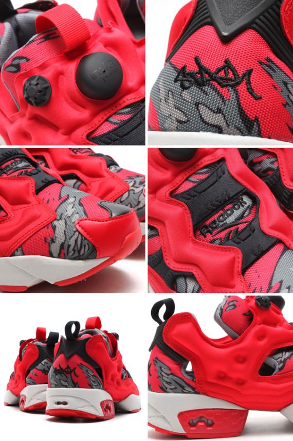servidor grande pastor  Stash x Reebok Pump 25th Anniversary Red Collection - WearTesters