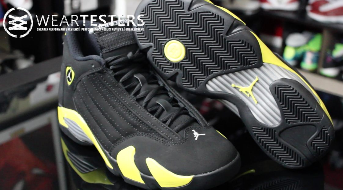 Air Jordan 14 Retro 'Thunder' – Detailed Look & Review