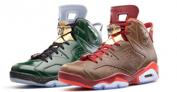 Air Jordan 6 Retro 'Celebration Collection' – Official Images