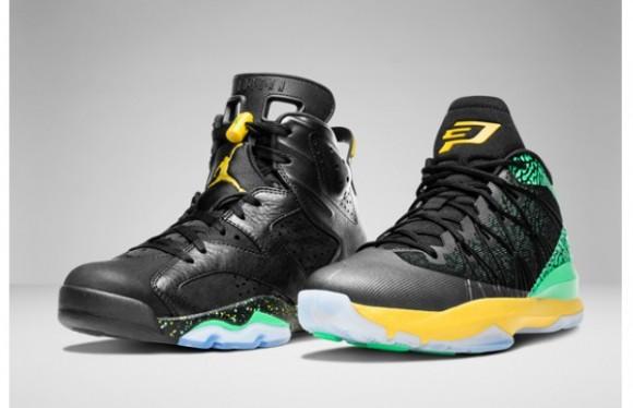 Air Jordan 'Brazil Pack' – Official Look 1