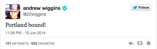 Andrew Wiggins Next Nike Athlete? 2