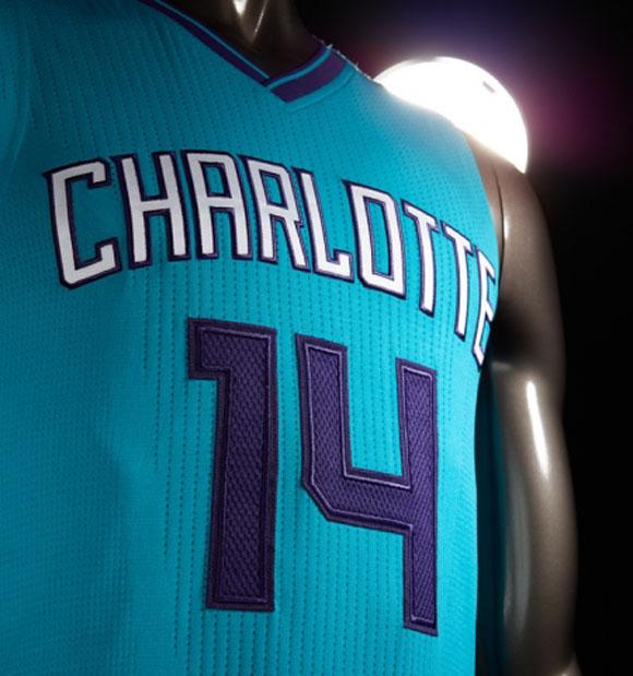 Charlotte Hornets Unveil New Uniforms 10