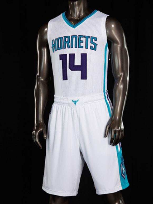 Charlotte Hornets Unveil New Uniforms 2