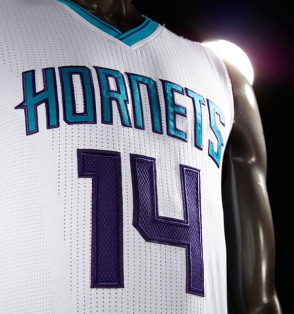 Charlotte Hornets Unveil New Uniforms 3