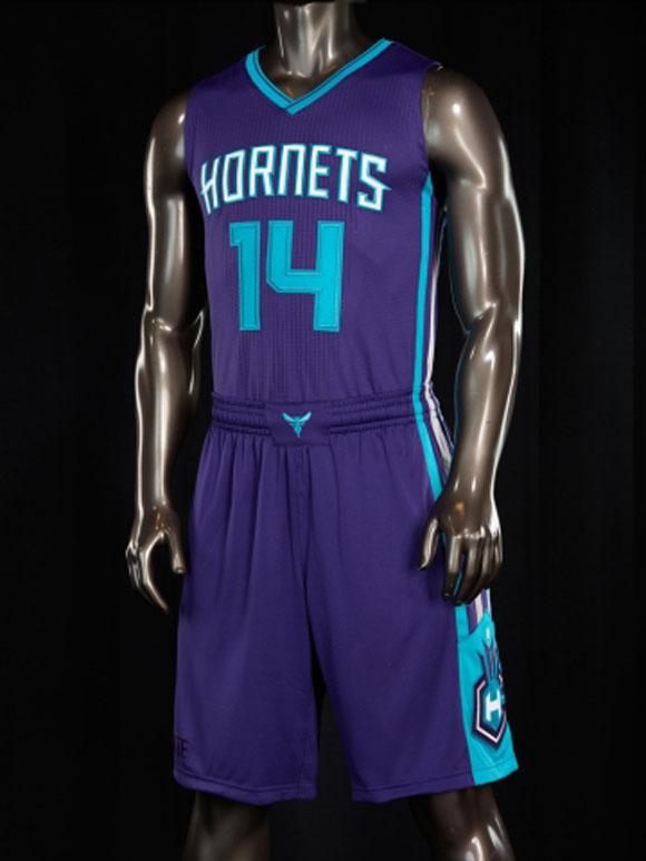 Charlotte Hornets Unveil New Uniforms 6
