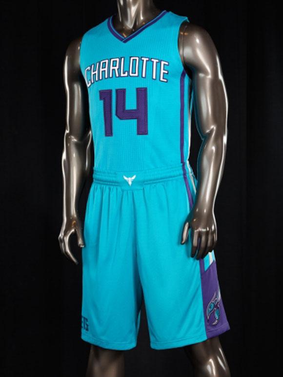 Charlotte Hornets Unveil New Uniforms 9