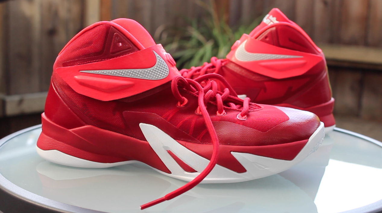 First Impression Nike Zoom Soldier 8