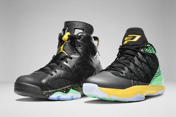 Jordan Brand Officially Unveils Brazil Pack 1