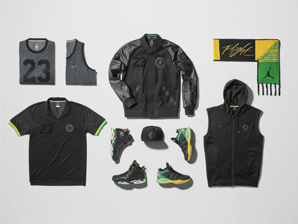 Jordan Brand Officially Unveils Brazil Pack 12