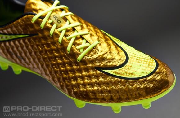 Neymar's Gold Nike Hypervenom - Now Available