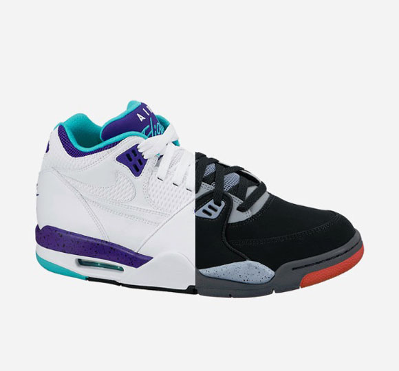 Nike Air Flight '89 Grape & Black Cement – Available Now