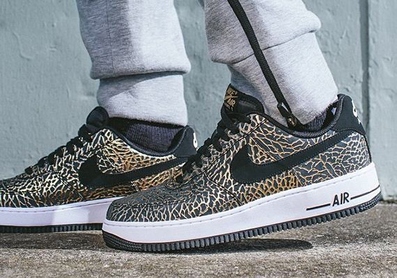 Nike Air Force 1 'Gold Elephant' – Release Info 1