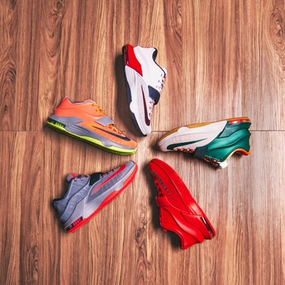 Nike KD 7 – Future Colorways