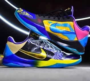 Nike Kobe 5 'What The' Customs 3