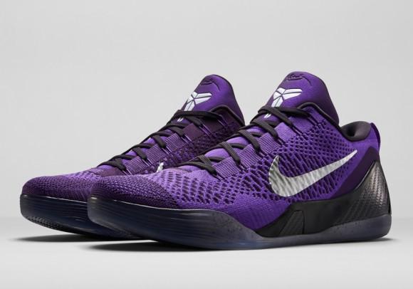 Nike Kobe 9 Elite Low 'Hyper Grape' – Official Images + Release Info 1
