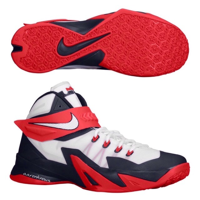 wholesale dealer e565b fd5d3 Nike Zoom Lebron Soldier 8 - Detailed First Look - WearTesters