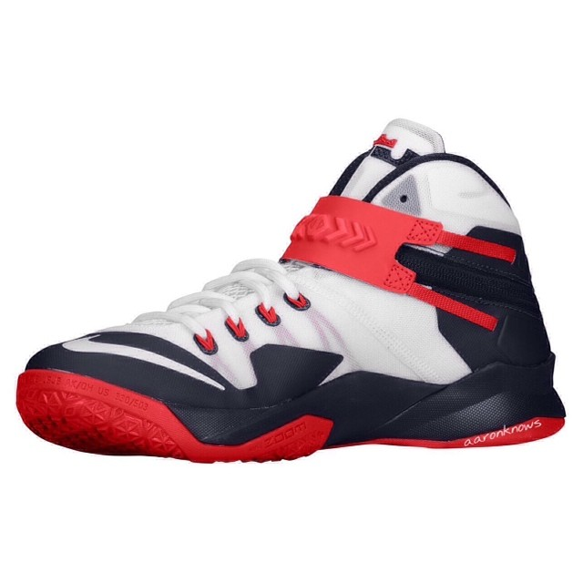 wholesale dealer e77a7 65aaf Nike Zoom Lebron Soldier 8 - Detailed First Look - WearTesters