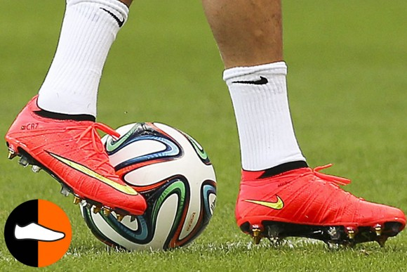 Ronaldo Takes the Pitch in a Low-Cut Superfly 2