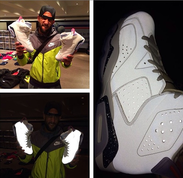 Tim Howard Shows a Rare Air Jordan 6 Retro