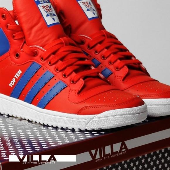 VILLA x adidas Originals Top Ten 'Final Draft' 1
