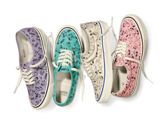 Vans Vault x Peanuts Fall 2014 Collection 1